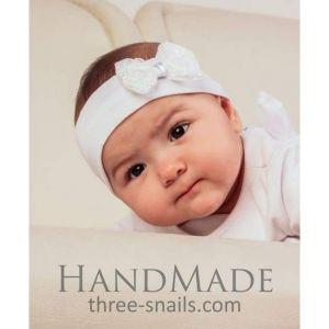 """Infant headband """"Bow"""""""