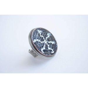 "Jewelry rings""White snowflake"""