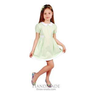 "Kids dress clothes ""Green charm"""