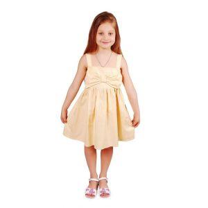 """Kids dress """"Yellow bow"""""""