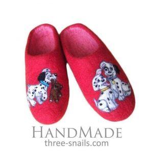 "Kids slippers ""Cure dalmatians"""