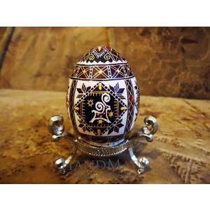 «Lamb» pysanka (Easter egg)