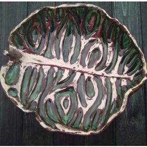 """Large ceramic plate """"Imagination"""""""