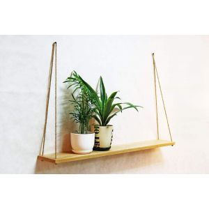 Large hanging shelf natural