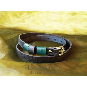 Leather belt (narrow)