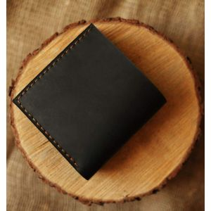 "Leather wallet ""Dark jazz"""