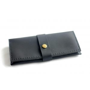 "Leather wallet ""Dark Queen"""