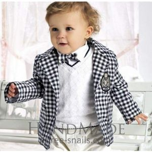 "Little boys clothes ""Chequered"""