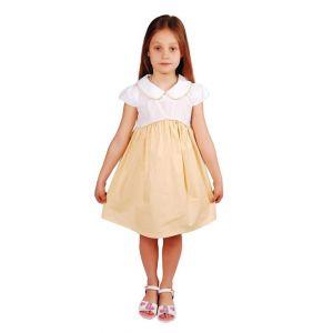 "Little girls dress ""Yellow elegance"""