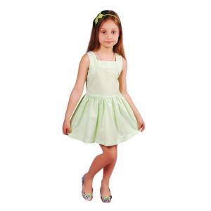 """Little girls fancy dress """"Green summer"""""""