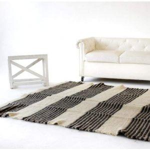 """Living room rug""""Black and white"""""""