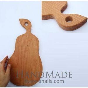 "Meat cutting board ""Pear"""