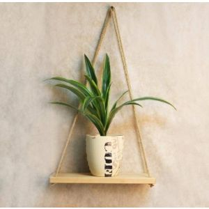 Medium hanging shelf natural