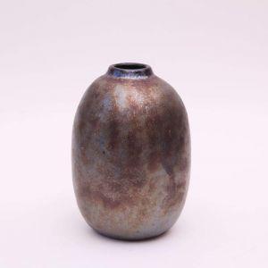 Medium metallic vase