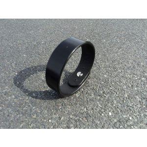 "Mens black bracelet ""Gorgeous"""