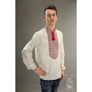 "Mens long sleeve shirt ""Path"""