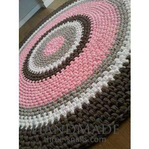 Modern round rug