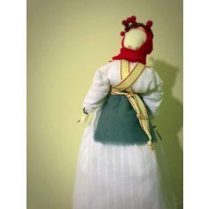 "Motanka doll talisman ""Snow vibrunum"""