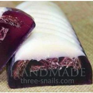 Natural Homemade Soap «Currants with Loofah»