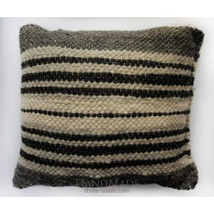 "Organic pillow ""Black and white"""