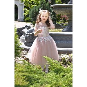 "Party dresses for kids ""Coffee tenderness"""