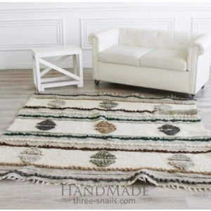 "Patterned carpet ""Textured diamond"""