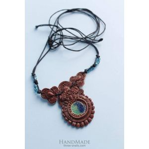 "Pendant necklace ""Talisman"""