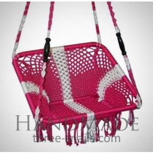 Pink chair hanging hammock