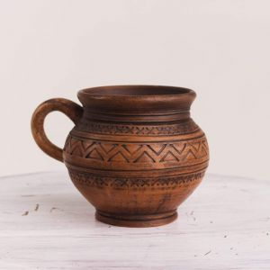 """Pottery cup """"Coffee berry"""""""