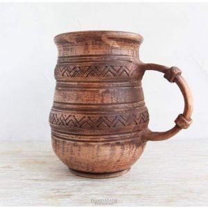 """Pottery mugs """"Zigzag"""""""