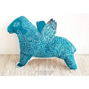 "Printed pillow ""Horse"""