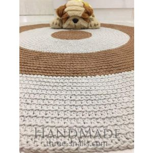 Round baby room rug