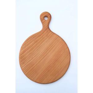 "Round cutting board ""Home coziness"""
