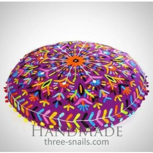 Round floor cushion