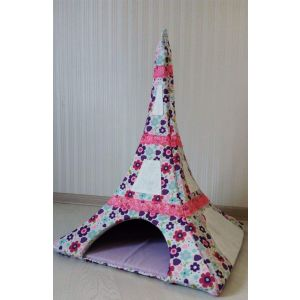 "Сat pet house ""Eiffel Tower"""