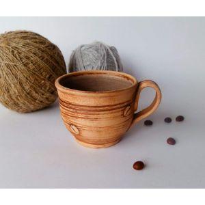 "Сeramic cups ""Aroma coffee"""