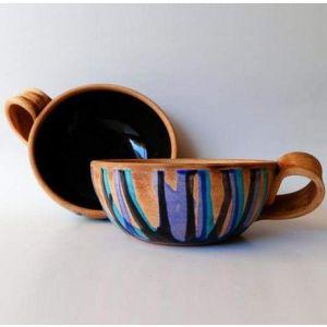 """Сeramic cups set """"For beloved"""""""