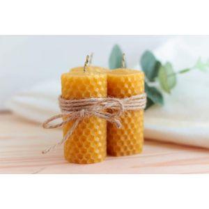 """Set of honey candles """"Honey dream"""""""