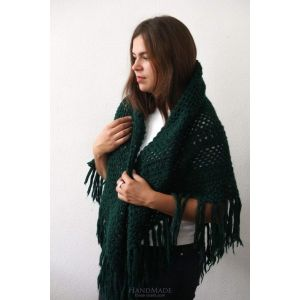 """Shawls and wraps """"Emerald"""""""
