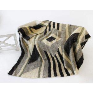 "Sheep wool blanket ""Apache"""