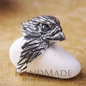 Silver ring eagle