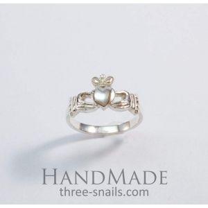 "Silver rings for women ""Irish legend"""