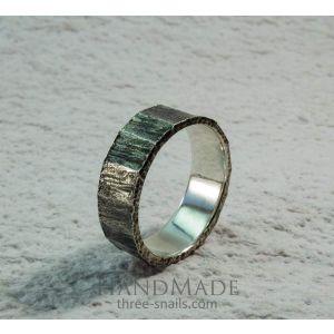 "Silver rings ""Mystic wood"""