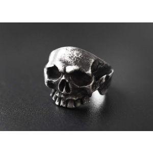 """Silver skull ring """"Yorick"""""""