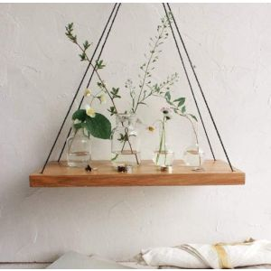 "Simple hanging swing shelf ""Home garden"""