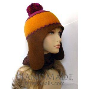 "Ski hat ""Sweet winter"""