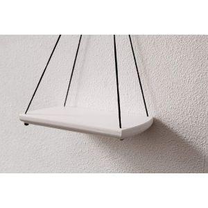 Small hanging shelf white