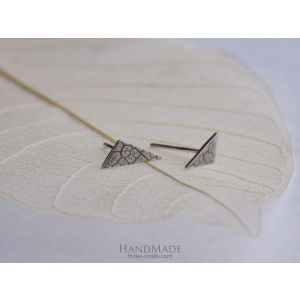 "Small triangle earrings ""Triangle"""