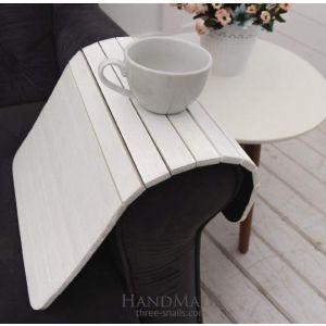 Sofa tray white