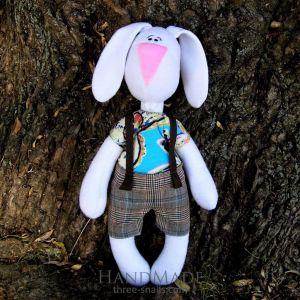 """Soft toy """"Bunny Stepashka"""""""